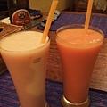 來到柬國也一定要喝fruit shake!!