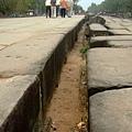 可以看得出來古人用得都是真材實料,石塊不是普通的厚又大啊!