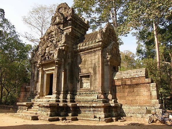 神廟旁的小型藏經閣