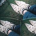 小尖鞋受傷了