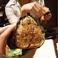 大栗桑點的烤飯團,不錯吃喔!
