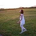 身心舒暢       放眼望去只有大草原、海、天空