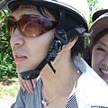 載他習慣了,一開始反而會怕,但其實ryo騎得很穩喔!