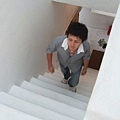 樓梯也很雪白喔~