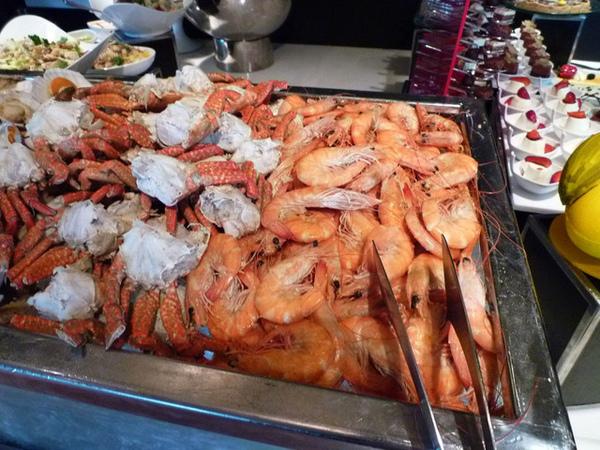 干貝螃蟹鮮蝦當然不可少!