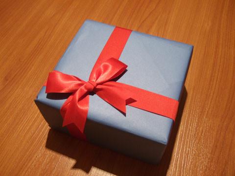 亮にもらったプレゼント!