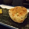 櫻花蝦烤飯團,留給最近新任的遲到大王吃!