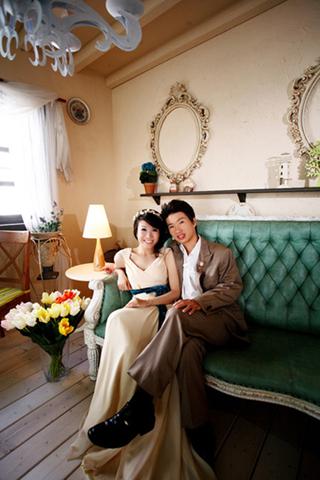薛老師的婚紗照