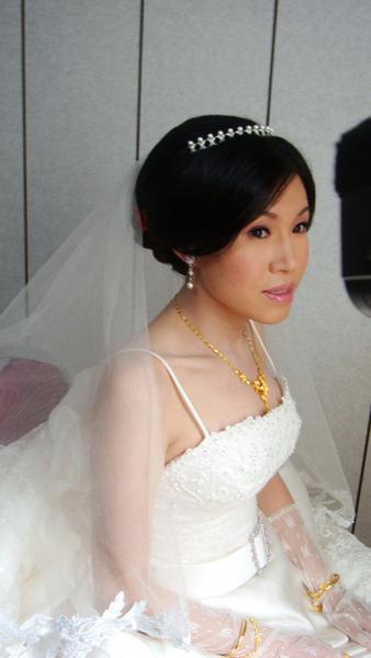 9/17 婚禮第一天,薛老師真美,我都快認不出來了