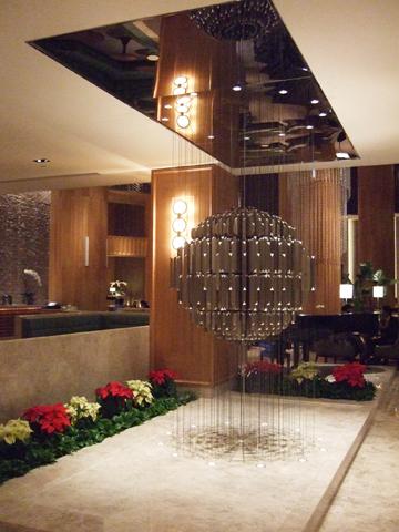 寬敞的Lobby裡,每個角落都看得出設計師的佈置巧思