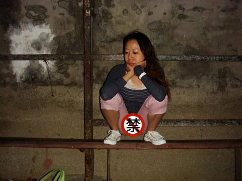 太妹杏這是什麼pose?!?! 櫻桃駝趾太過份露出拉!