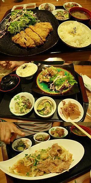 子婷在網路上找到一位日本媽媽開的食堂,油煙味重了點但不錯吃喔