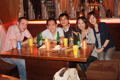 4/28 Nico回西班牙前的聚餐在malibu