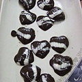 痣好哥哥做的創意愛心巧克力,好拉!老實說挺不賴的~