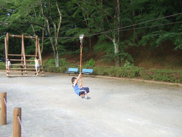 公園某一角的遊樂設施太屌了下次我也要來玩~