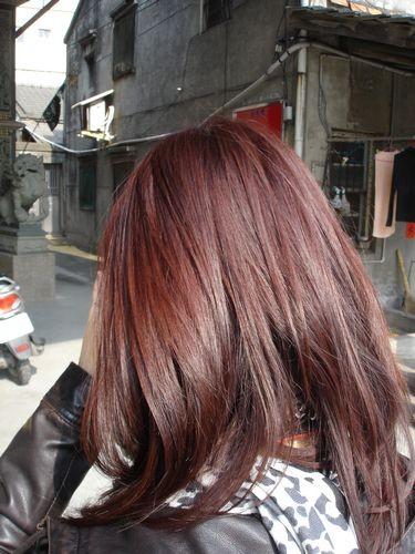 滿意的紅髮