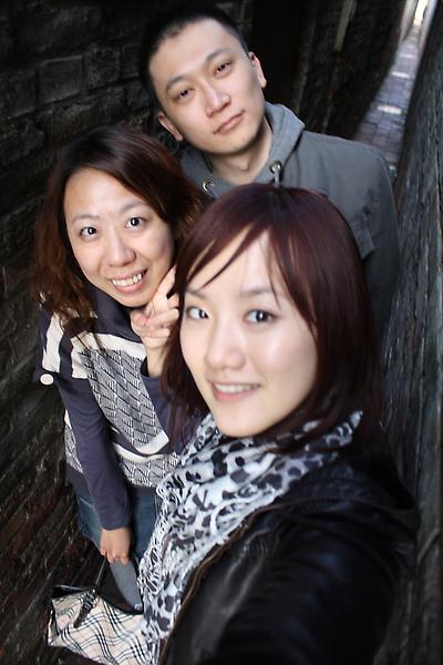 三人總是要來張合照