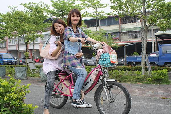 坐上腳踏車就是有種青春的味道