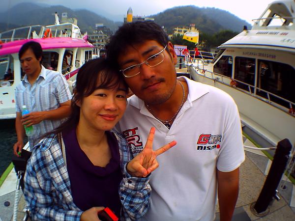 范學長的大哥和女友