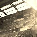 東山鄉日式碾米廠的二樓外觀好有FU啊