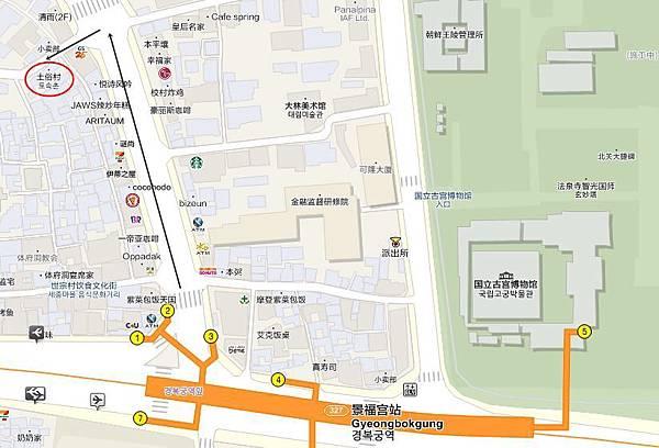 土俗村地圖