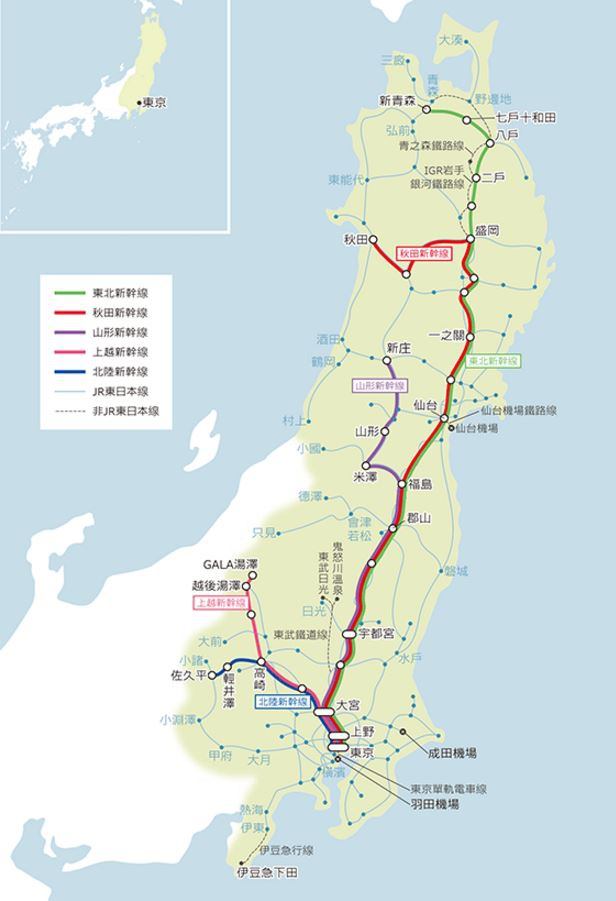 JR東日本MAP