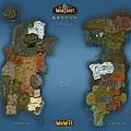 魔獸世界地圖