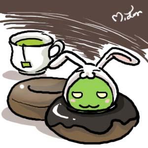 柚子in兔子裝