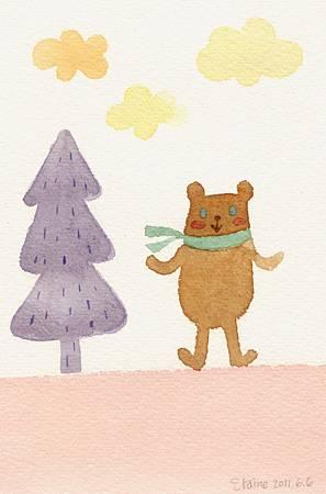 散步小熊.jpg