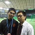 與日本自由記者小川