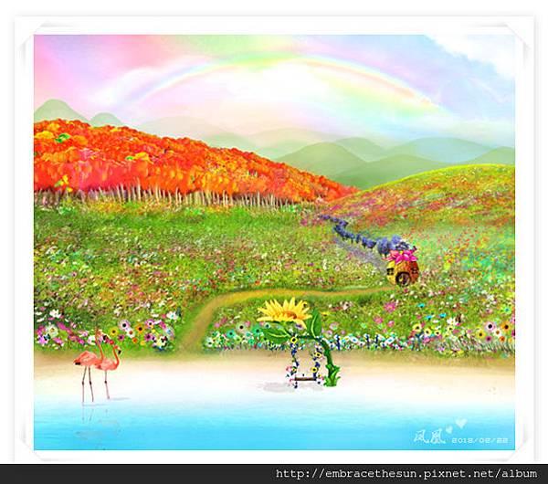 紅鄉家園 手繪圖