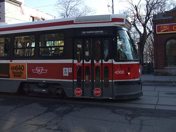 所謂的街車(streetcar)