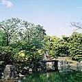 日本的庭園都弄得很美
