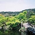 圓山公園裡的庭園
