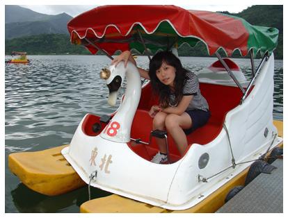 鯉魚潭划船