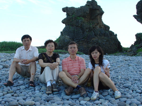 大舅、老媽、老爸和我