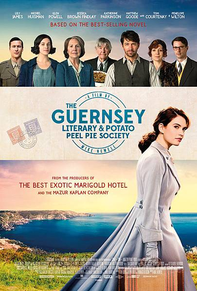 真愛收信中 The Guernsey Literary and Potato Peel Pie Society