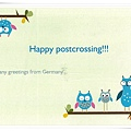 happy postcrossing