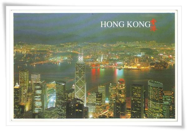 HK 維多利亞夜景