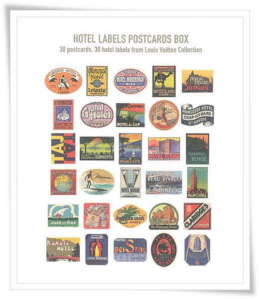 LV-postcards box
