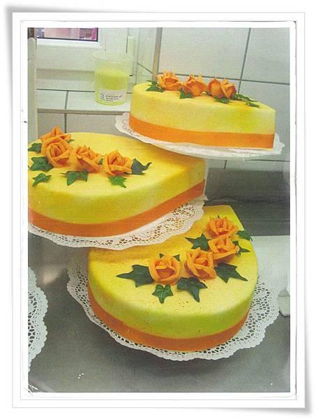 AT wedding cake