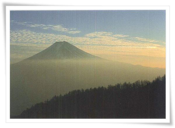 富士山 絹雲