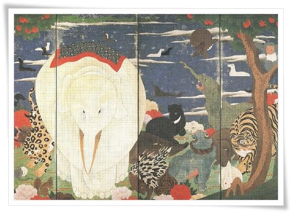 鳥獸花木圖