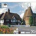 Kentish Oast Houses at Heaverham near Sevenoaks