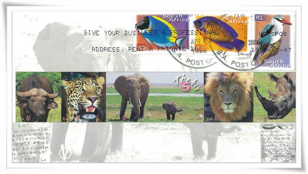 Buffalo+Leopard+Elephant+Lion+Rino