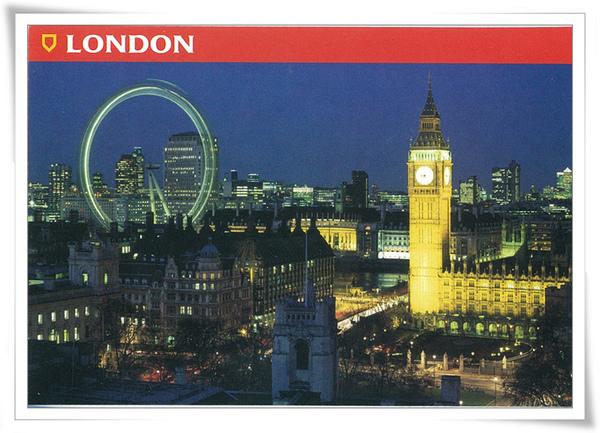 倫敦景  大笨鐘 夜景.jpg