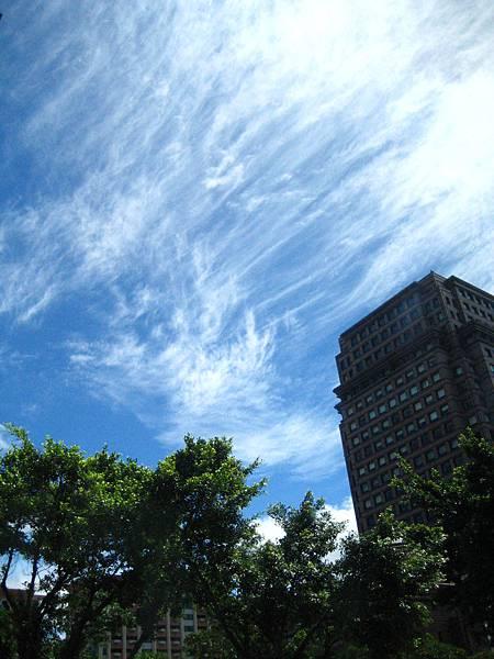 天空很漂亮