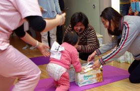 愛麗生婦產科-寶寶搬尿布比賽2
