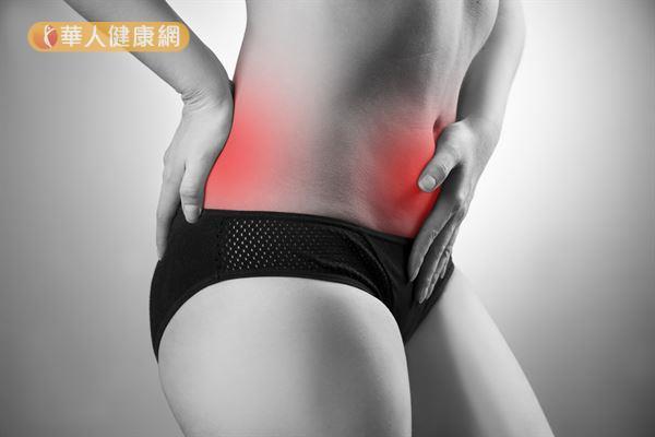 絕大多數子宮後傾的女性沒有明顯症狀,但少數換因此出現經痛和腰痠背痛的情況。