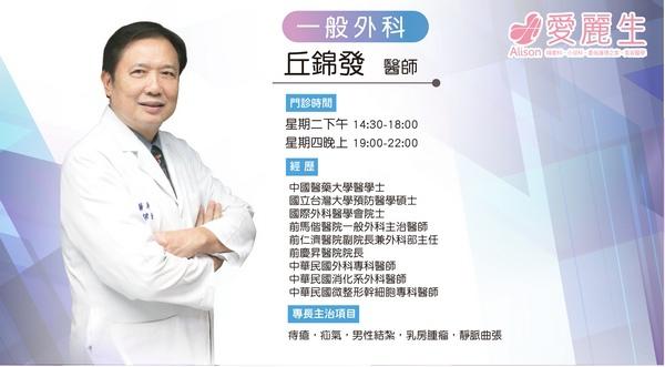 一般外科 丘錦發 醫師